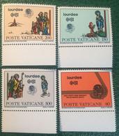 1981 - Vaticano - 50° Anniversario Della Fondazione Di Radio Vaticano - Serie Quattro Valori - Nuovi - Nuovi