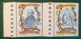 1981 - Vaticano - Beato Jan Van Ruusbroec - Serie Due Valori - Nuovi - Nuovi