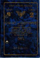 Romania, 1940, Romanian Railways CFR Identity Card, 2nd Class - Revenue Fiscal Stamps / Cinderellas - Altri