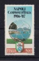 ITALIA REPUBBLICA 1987 NAPOLI CAMPIONE D'ITALIA SASSONE S.1805  MNH PERFETTO - 1981-90:  Nuovi