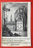 Anno 1841 - Doodsprentje Décés - LITHO - Meester ANTHUENIS VOLCKERICK Sinay - 8 Cm X 5.5 Cm - Devotieprenten