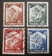 Deutsches Reich: 565-568 Gestempelt - Used Stamps
