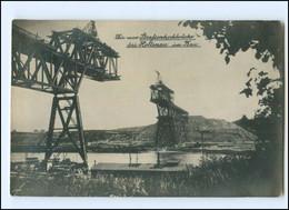 V2012/ Kiel Holtenau Hochbrücke Im Bau  Nord-Ostsee-Kanal Foto AK 1911 - Non Classés