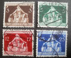 Deutsches Reich: 617-620 Gestempelt - Used Stamps