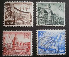 Deutsches Reich: 739-742 Gestempelt - Used Stamps