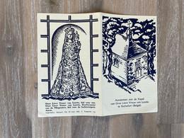 Aandenken Aan De Kapel Van Onze Lieve Vrouw Van Loreto Te Rochefort - Imprimatur Namurci 1961 - Beschermster Vliegeniers - Andachtsbilder