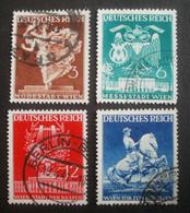 Deutsches Reich: 768-771 Gestempelt - Used Stamps