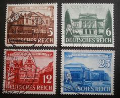 Deutsches Reich: 764-767 Gestempelt - Used Stamps