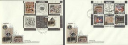 Guinea Bissau 2010, Art With Chess, Lion Club, 4val In BF +BF In 2FDC - Moderni