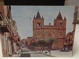 Cartolina  Vallelunga Pratameno Prov Caltanissetta  Corso Garibaldi - Caltanissetta