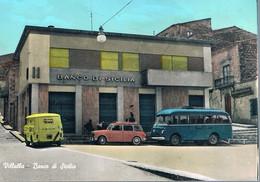 B4903 - Villalba Banco Di Sicilia, Primi Colori, Non Viaggiata F. G. - Caltanissetta