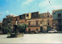 B4911 - Vallelunga, Piazza Umberto I°, Viaggiata 1982 F. G. Colore - Caltanissetta