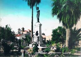 B4912 - Serradifalco, Monumento Ai Caduti, Primi Colori, Viaggiata 1962 F. G. - Caltanissetta