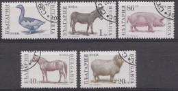 BULGARIEN / BULGARIJE MI.NR.3923-3927  USED / GEBRUIKT / OBLITERE 1991 - Gebraucht