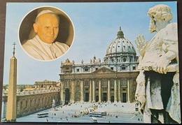 Ak Vatikan - Platz Und Hl. Petrus Hauptkirche - Vaticano