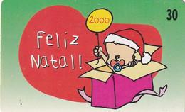 BRAZIL(Telebrasilia) - Merry Christmas(200000ex), 12/99, Used - Natale