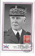 77 SM - SALON DE LA MARINE 1944 - PÉTAIN - CAD 10  Juin 44  (Suivez Moi- Gardez Votre Confiance En La France éternelle) - Posta Marittima