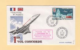 Concorde - 1er Vol Concorde 001 -2 Mars 1969 - Toulouse Blagnac - Air Post