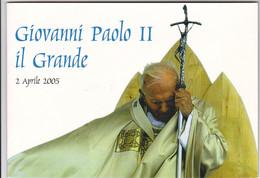 Itália  -Vaticano  -Papa   Paolo  II  Il Grande  2005 - Lotti E Collezioni