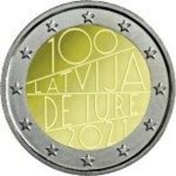 Letonia   2euro Cc - Iure  -  2020   UNC - Portugal