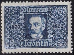 ÖSTERREICH AUSTRIA [1922] MiNr 0432 ( */mh ) - Gebruikt