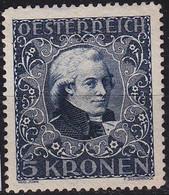 ÖSTERREICH AUSTRIA [1922] MiNr 0419 ( */mh ) - Gebruikt