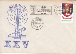 IASI-10/12/1981-25ème Anniversaire De La Première émission De Radio à Iasi - Lettere