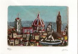 Non Cadré : Florence / Firenze (87 Mm X 58 Mm) - Pastelli