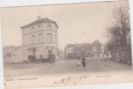 Vilvoorde - Leuvense Steenweg (Decrée) (gelopen Kaart Van Voor 1900 Met Zegel) - Vilvoorde