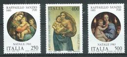 Italie YT N°1593/1595 Noël 1983 Neuf ** - 1981-90:  Nuovi