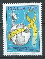 Italie YT N°1637 Information Journalistique Neuf ** - 1981-90:  Nuovi