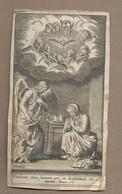 IMAGE PIEUSE Du XVIIe Siècle De Pierre LANDRY ( 1630-1701) - Images Religieuses
