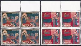 SPANIEN 1971 Mi-Nr. 1956/57 Viererblocks ** MNH - 1971-80 Nuovi