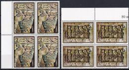 SPANIEN 1973 Mi-Nr. 2057/58 Viererblocks ** MNH - 1971-80 Nuovi