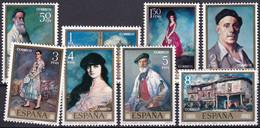 SPANIEN 1971 Mi-Nr. 1912/19 ** MNH - 1971-80 Nuovi
