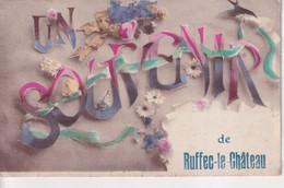 RUFFEC LE CHATEAU - Ruffec