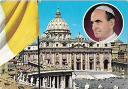 Citta Del Vaticano - Piazza E Basilica Di S. Pietro - Pape Paul VI - Vaticano
