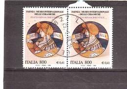 1999 £800 €0,41 FAENZA MUSEO CERAMICHE - Blocchi & Foglietti