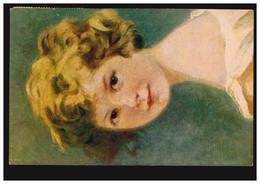 Künstler-AK J. Engel: Fredi - Mädchenportrait, BERGZABERN 21.10.1918 - Sin Clasificación