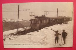 31 Luchon-Superbagnères 1919 Le Chemin De Fer à Crémaillère Animée éditeur B & G BR 3903 Dos Scanné - Superbagneres