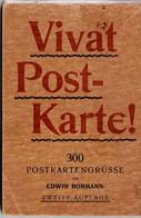 Vivat Postkarte! 300 Postkartengrüsse Von EDWIN BORMANN. 1898 - Books & Catalogs