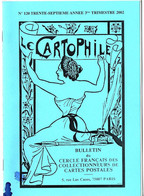 LE CARTOPHILE N° 120 - 2002 - Bücher & Kataloge