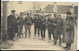 TROYES - Manifestation Des Vignerons De L'Aube (9 Avril 1911) - Troyes