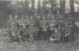 Carte Photo Militaire à Situer - Characters