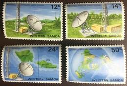Samoa 1980 Satellite Earth Station MNH - Samoa
