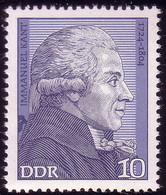 1942 Persönlichkeiten Immanuel Kant 10 Pf ** - Sin Clasificación
