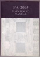 Manuel - Carte Mère FIC PA-2500 - Altri