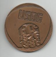 D21X30 - MEDAGLIA 60° USAG IN BRONZO - Bronzi