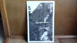 CPA .train à L'arrêt Sur Le Pont De La Forclaz (Annecy ??).1916.(S41-21) - Unclassified