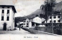 CASTO-Brescia-VAL SABBIA-Manovre Alpine-Vg Il 26-8-1906-Originale Al100%- - Brescia